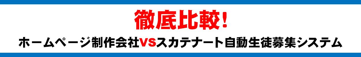 ホームページ制作会社VSスカテナート